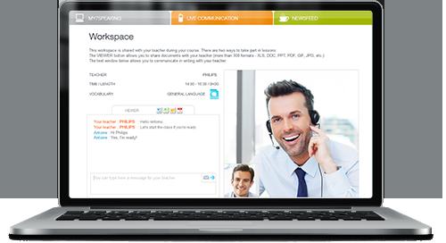 Cours d'anglais par téléphone/Skype en visioconférence