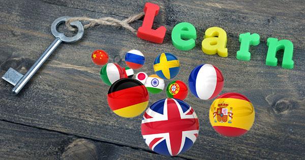 lés pour apprendre une langue